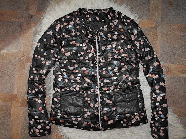 Оригинал Laura Torelli Collection Германия стильная стеганая куртка
