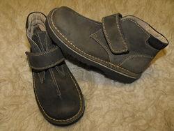 Оригинал George удобние ботинки на липучках полностью нат кожа