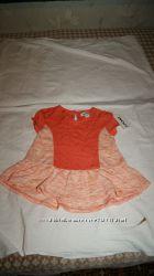 Модная туничка на девочку 3 года  DKNY