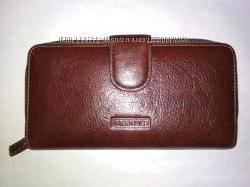 Классный кожаный кошелек англ. бренда Golunski