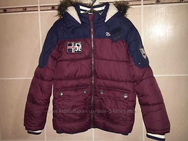 Отличная зимняя куртка немецкого бренда Palomino рост 128