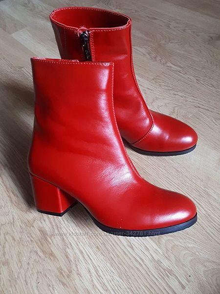 Кожаные ботинки SOLDI Эванс-6OK