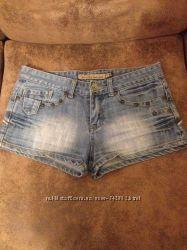Шорты джинс размер С
