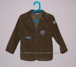 Стильный вельветовый пиджак для мальчика Cherokee 3-4 лет р. 104