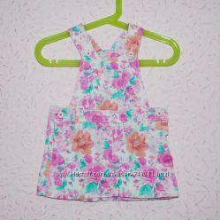 Стильный сарафан для маленькой принцессы M&S 3-6 міс 68 см