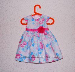 Праздничное платье для девочки George 6-9 міс. 9. 5 кг р. 68-74