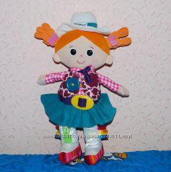 Развивающая обучающая мягкая кукла ковбой Lamaze 41 см
