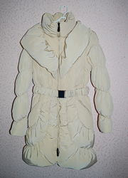 Пальто зимнее итальянское, пух XS, S
