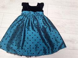 Нарядное платье F&F 5-6 лет