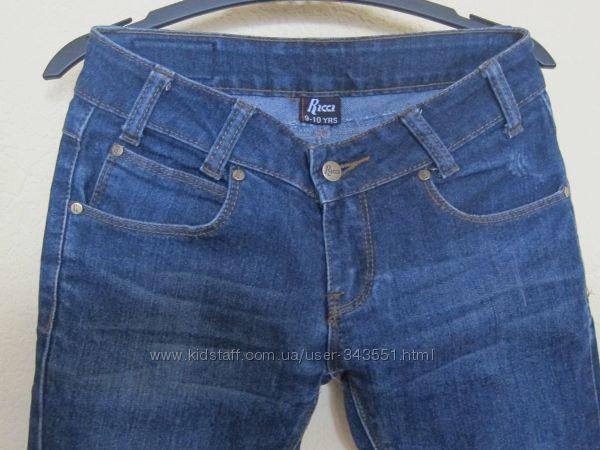 Брендовые джинсы для девочки Ricci размер 9-10 year