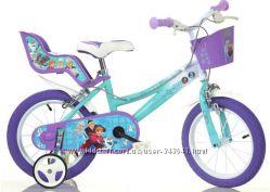 Велосипед Dino bikes Frozen, от 3 лет, 14 дюймов Италия