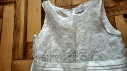 Нарядное платье на утренник, выпускной , молочного цвета