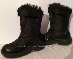 зимниенат. замш, осенние детские ботинки, сапоги 16см и 21см по стельке