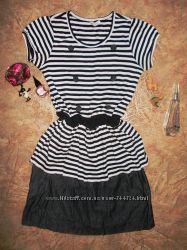Трикотажное платье на 12-14 лет, 100 cotton