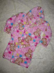 детский теплый махровый халат