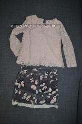 Юбка и блуза от H&M