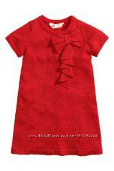 Яркое красное платье H&M с шимером,  ZARA сарафан