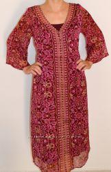 Изумительное платье M&S Indigo  34 XS-S