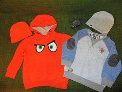 Теплый свитер, джемпер, свитшот Next 3-5лет. 98-110см