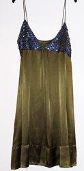 Супер платье для вечеринок. Размер S. Новое. Натуральный индонезийский шелк