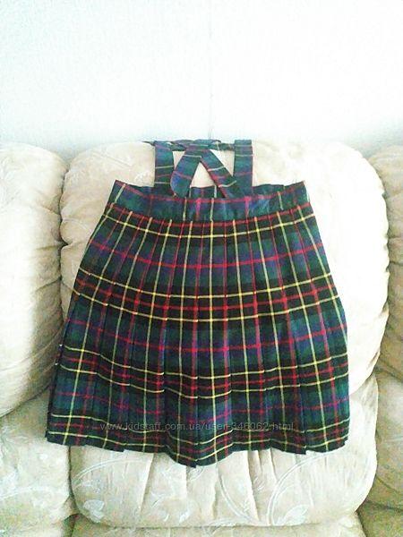 Фирменная школьная юбка , Испания, на 8-10лет