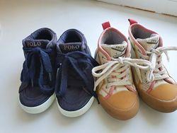 Две пары фирменной обуви 25р за 130гр