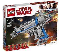 Lego Star Wars Бомбардировщик Сопротивления 75188