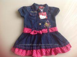 Платье Hello Kitty размер на 24 месяца