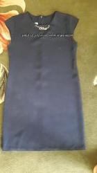 Платье в идеальном состоянии темно-синего цвета р. 158