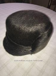 Мужская шапка из нерпы, новая