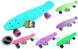Penny Board Скейт Пенни боард Pastel 22 - 55 см