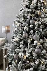 Большой набор елочных украшений 50шт. Англия. В наличии. Новогоднее Санта