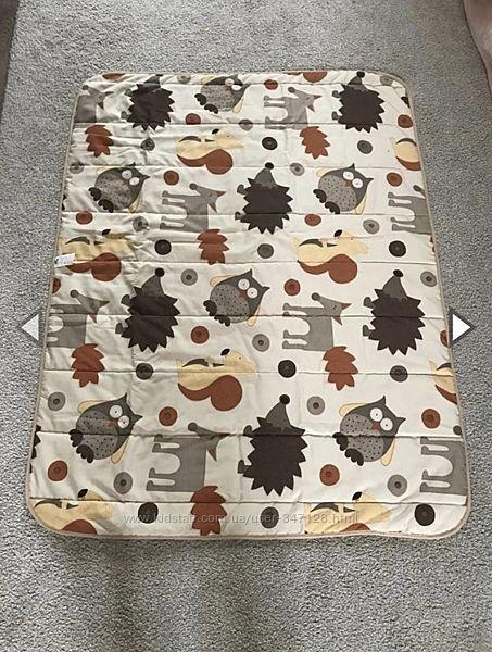 Большой мягкий коврик одеяло для игры. Бельгия. Детская комната