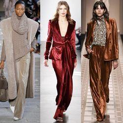 Шикарные бархатные брюки Vila. Оригинал. Новые стильные велюровые штаны