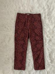 Шикарные укорочённые брюки H&M новая коллекция высокая посадка