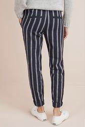 Стильные зауженные штаны Next. Лён хлопок брюки зауженные джинсы бойфренды