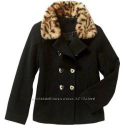 Короткое пальто на девочку George М 7-8