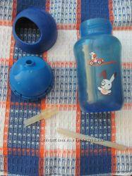 Бутылочка чашка с трубочкой освобождаем место