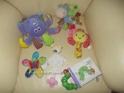 Комплект брендовых развивающих игрушек