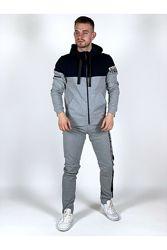 Спортивный костюм серый для мужчин