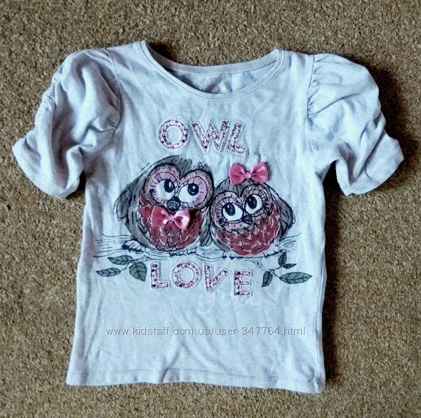 Красивая футболка на малышку