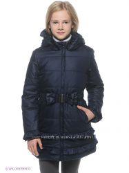 Гламурное пальто для девочки Button Blue рост 122