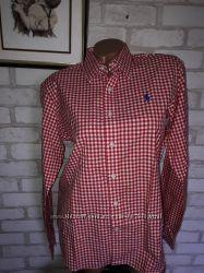Ralph Lauren Стильная рубашка в клетку р46 сток