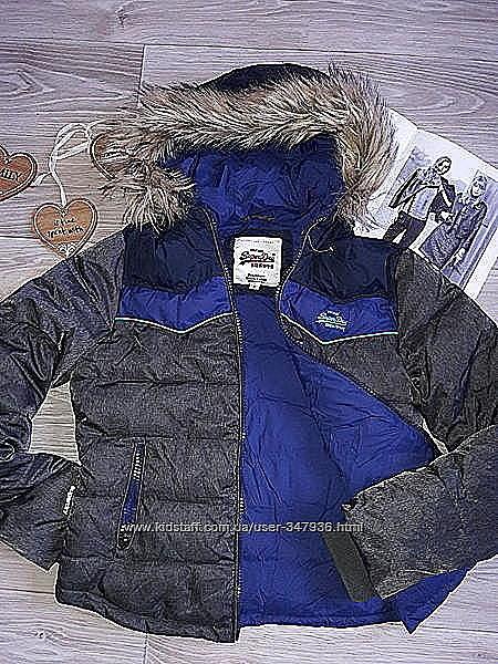 Superdry Дутая модная курточка р с.