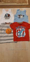 Фирменные футболки, майки, рубашки, шорты на мальчика, разные, 2-4 года