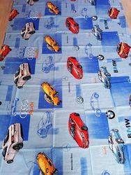 Марки машин синие постельное белье