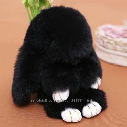 Кролик-брелок на сумку Рекс Фенди реальные фото распродажа остатков