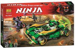 Конструктор Bela Ninja ночной вездеход ниндзя 10803. ниндзяго бела