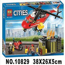 Конструктор Bela 10829 Пожарная команда быстрого реагирования