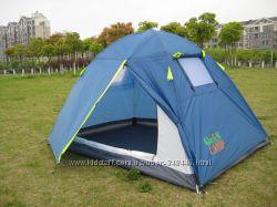 Палатка туристическая 2-х местная Green Camp 1001 A